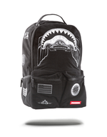 Sprayground Ghost Army Double Cargo Backpack Black