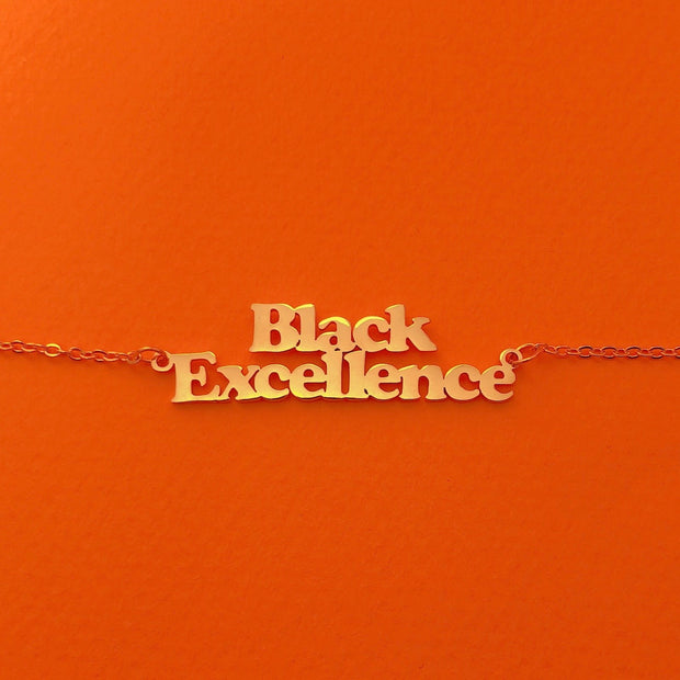 Black Excellence necklace 1