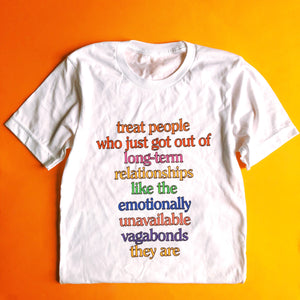 Emotionally Available Dating Advice t-shirt - Brownie Points