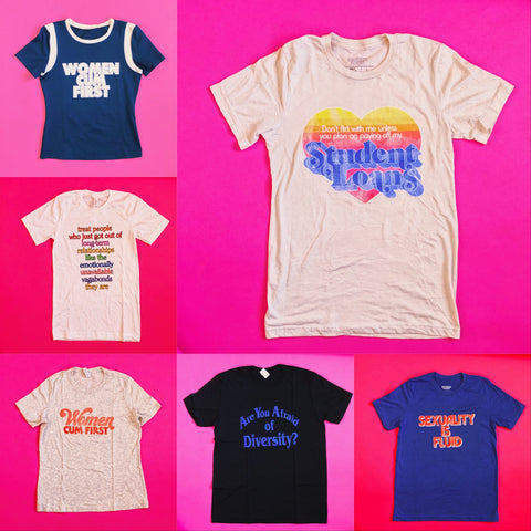 Sample Sale Tees - Brownie Points