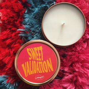 Sweet Validation candle