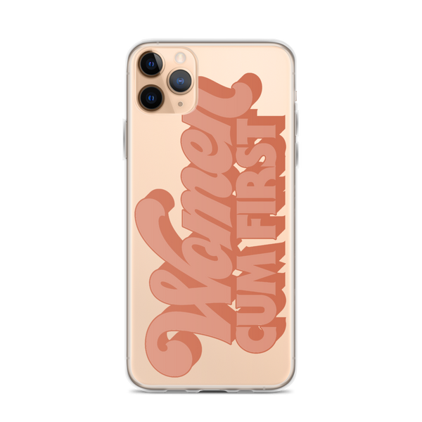 Women Cum First iPhone Case - Brownie Points