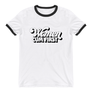 Women Cum First ringer tee - Brownie Points for You