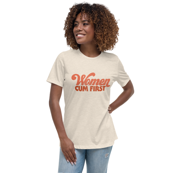 Women Cum First t-shirt - Brownie Points for You