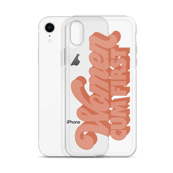 Women Cum First iPhone Case - Brownie Points for You