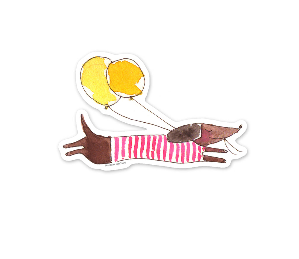Dachshund Dog Sticker