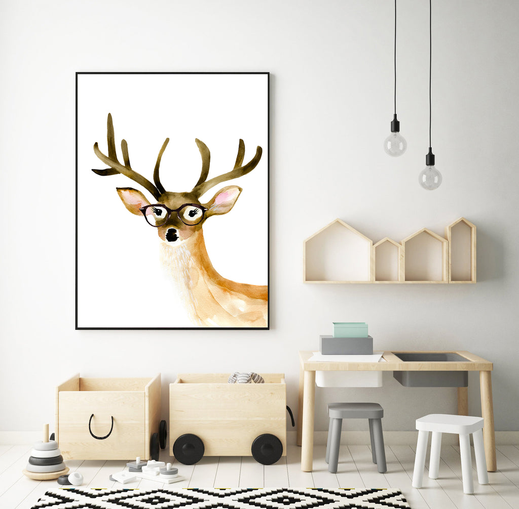 Deer with Glasses