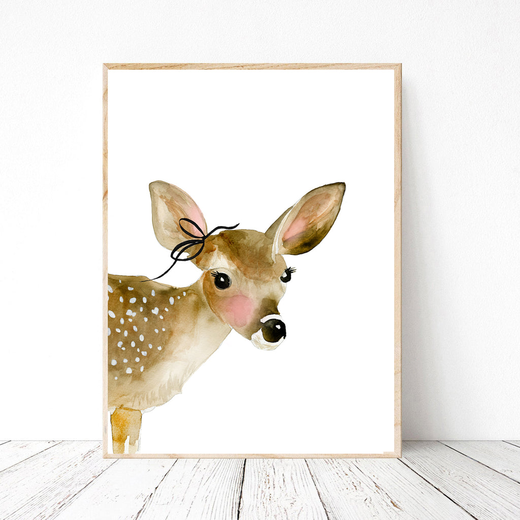 Fawn with Bow