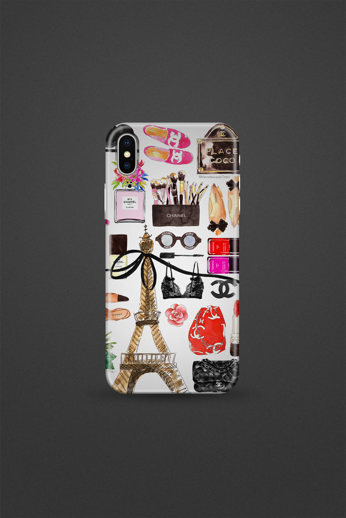 Paris Fashion Favourites Phone Case