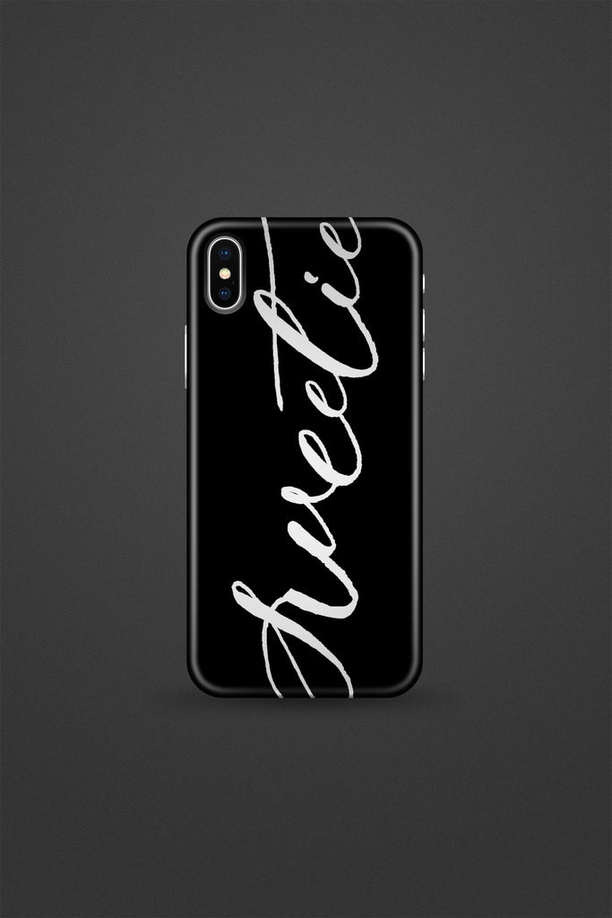 Sweetie black Phone Case