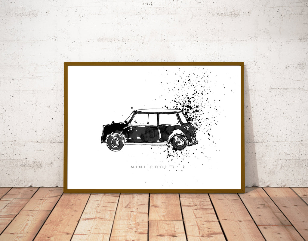 Mini Cooper Monochrome