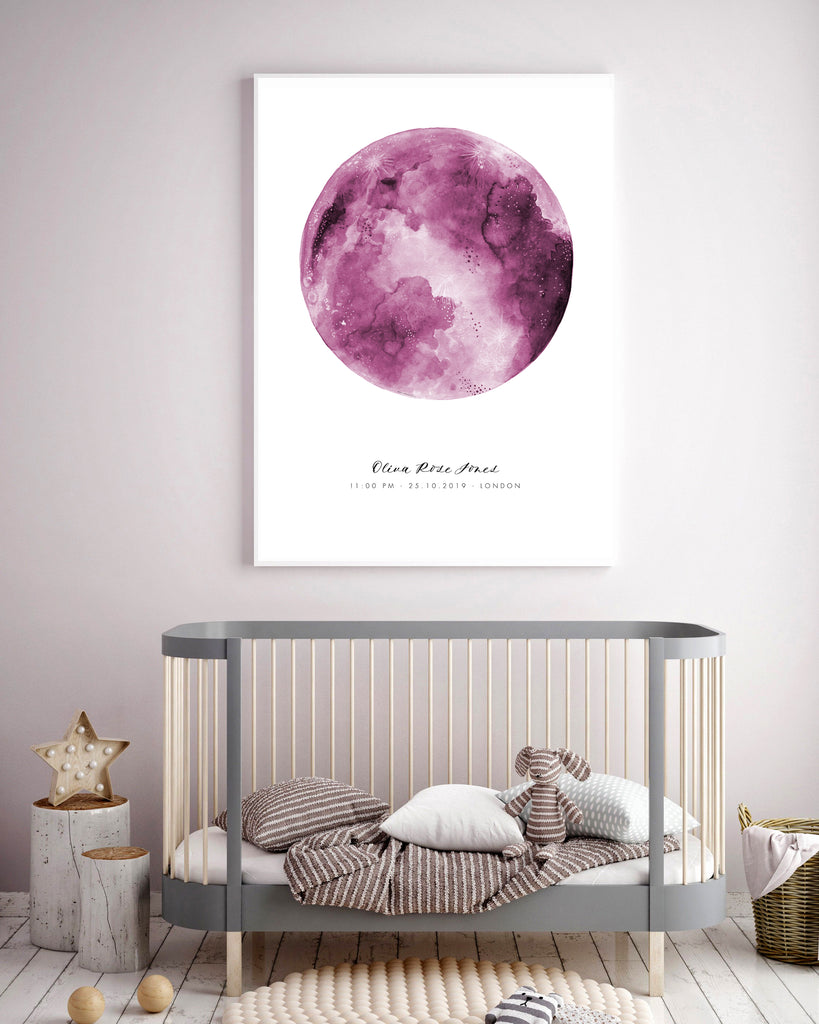 Pink Moon - CUSTOMISABLE