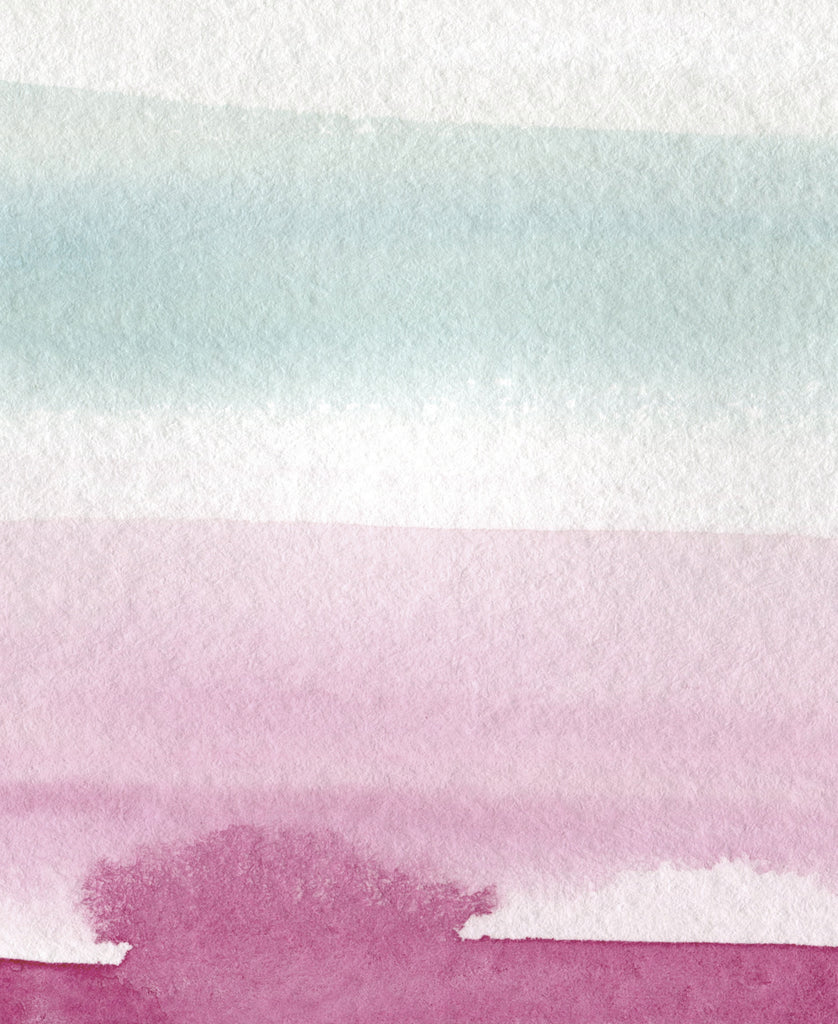 Abstract Pink Beach  - Set of Two