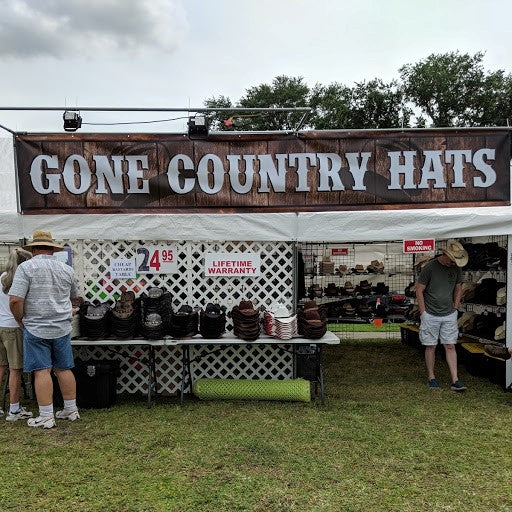 Gone Country festival tent