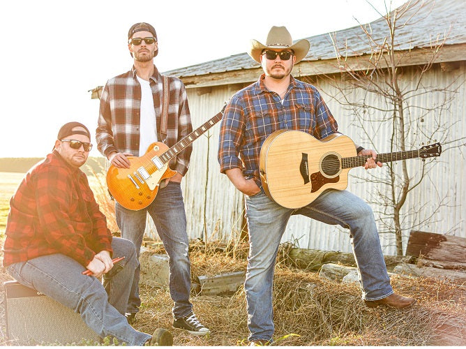 Brothers Carolina, Gone Country sponsored artists