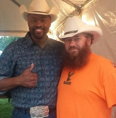 Mick and Cowboy Troy at Gone Country Hats
