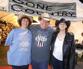 Goodtimes at the Gone Country Hats store