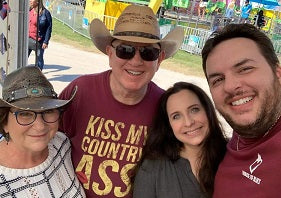 Group of Gone Country customers at Central Florida Fair