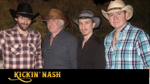 Kickinnash in Gone Country cowboy hats