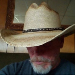 Jason cowboy hat from Gone Country