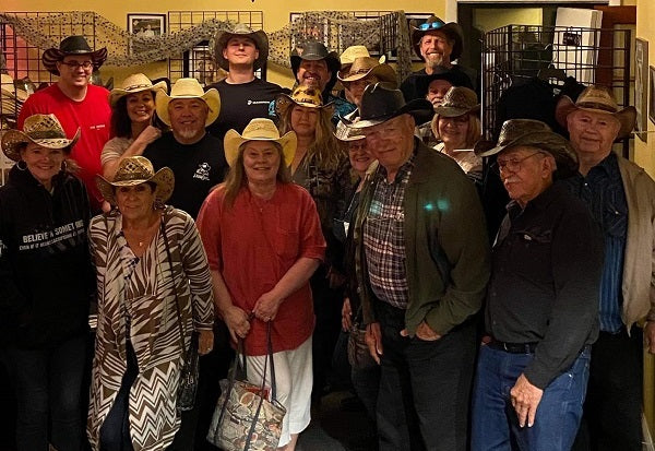 Cowboy Hats on Gone Country Hats customers