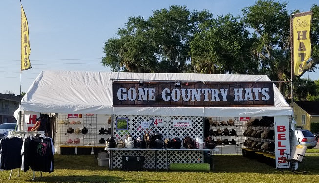 Country music cowboy hat store Gone Country