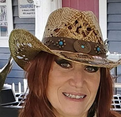 Ladies cowboy hat at Gone Country Hats