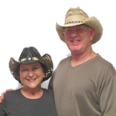 Keith and Judy, owners of Gone Country Hats