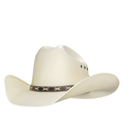 Traditional cowboy hat, similar to Brad Paisley's, but for kids