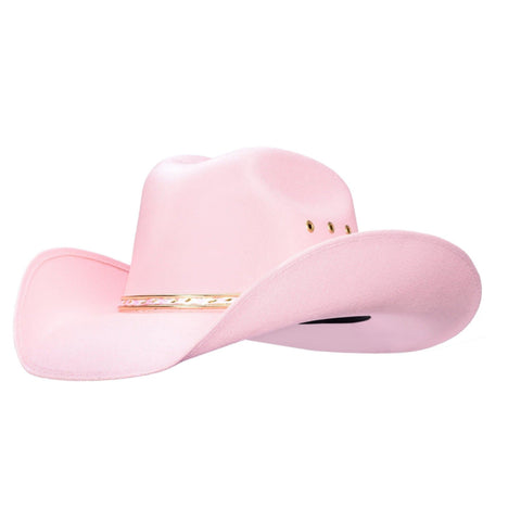Pink cowgirl hat. Gone Country Hats