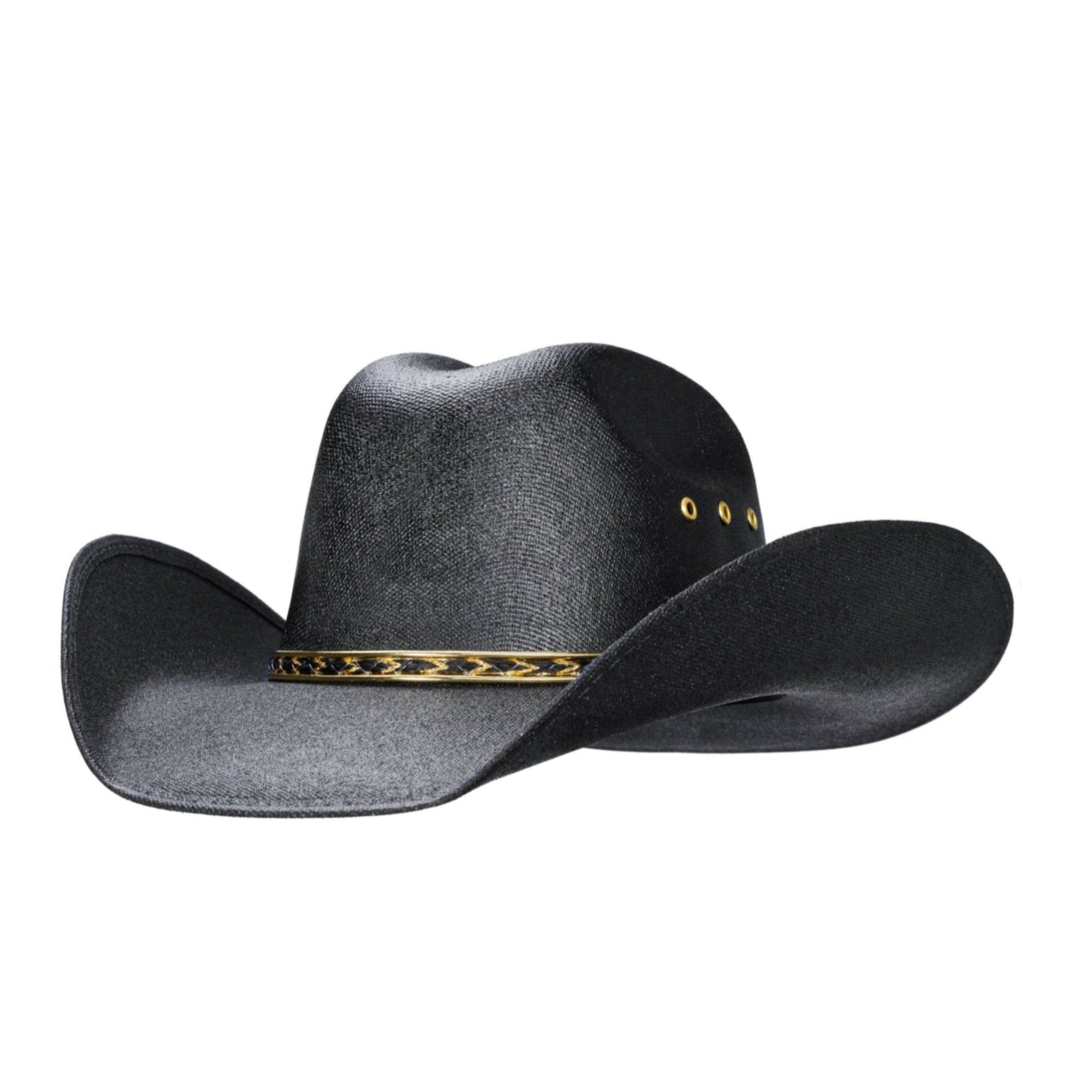 Traditional western style cowboy hat, child sized, cleans with Windex