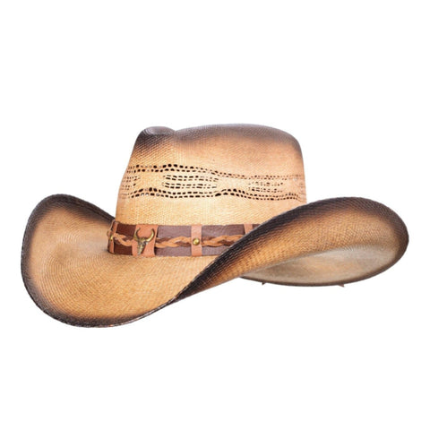 bangora cowboy hat, distressed to look old. Gone Country Hat