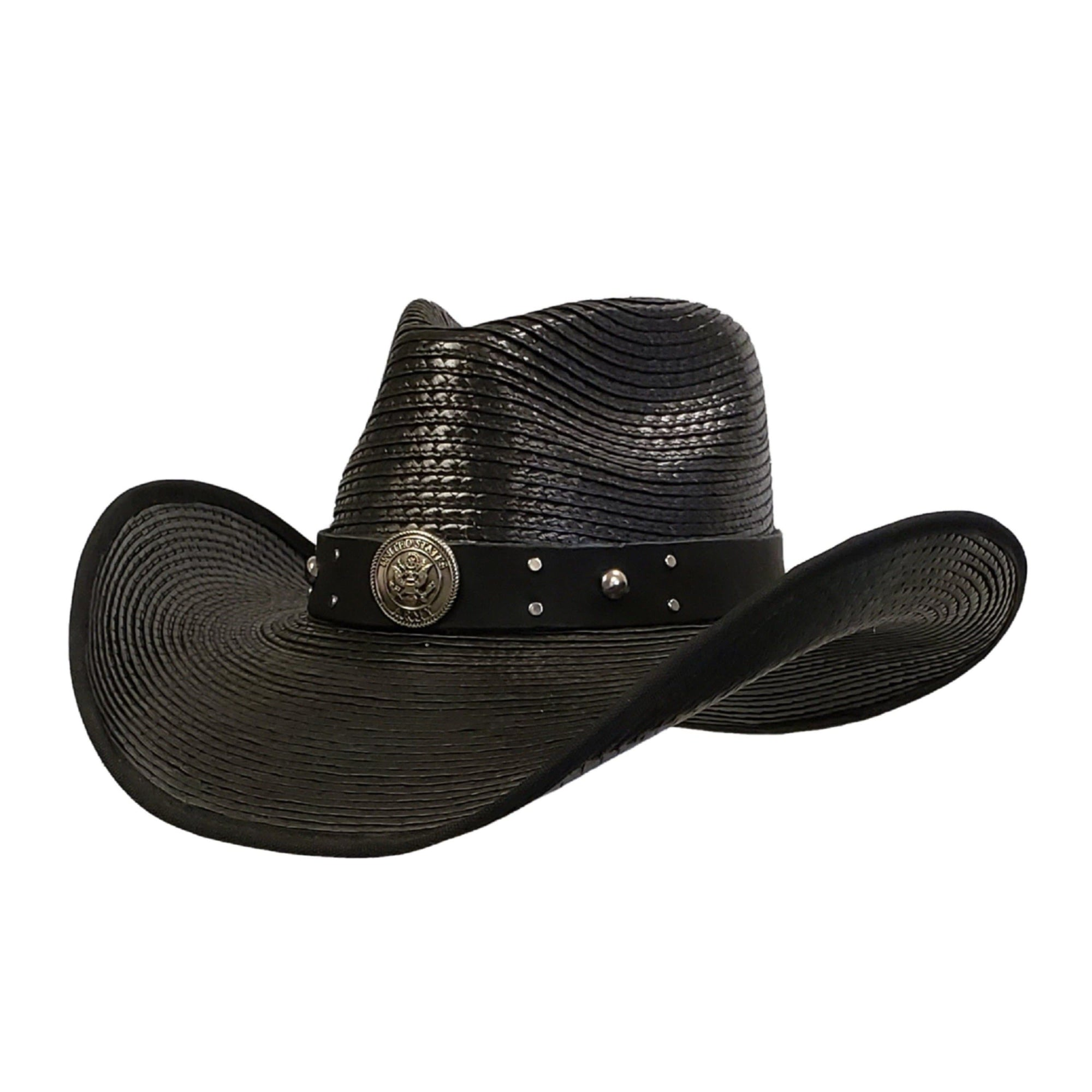 Waterproof cowboy hat honoring army heroes