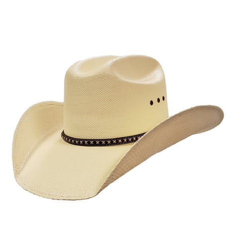 J Mark Bailey signature series Roper cut white bangora cowboy hat Gone Country Hats