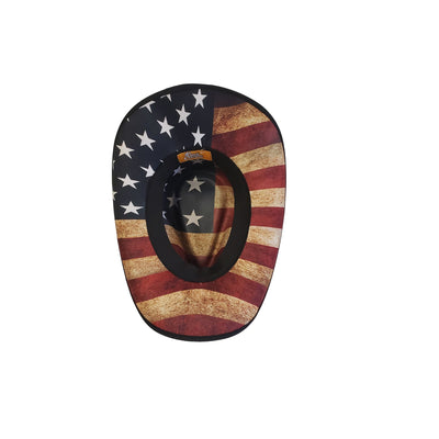 Patriot cowboy hat from Gone Country Hats
