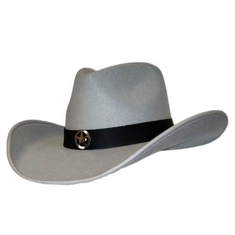 Gorgeous gray felt cowboy hat. Gone Country Hats