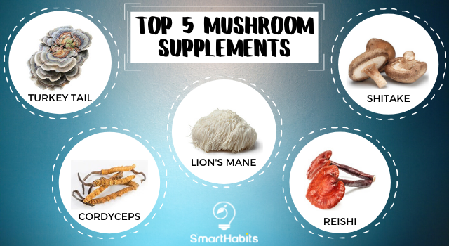 Top Five Mushroom Supplements
