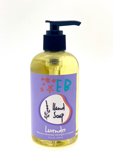 Liquid Hand Soap, Lavender