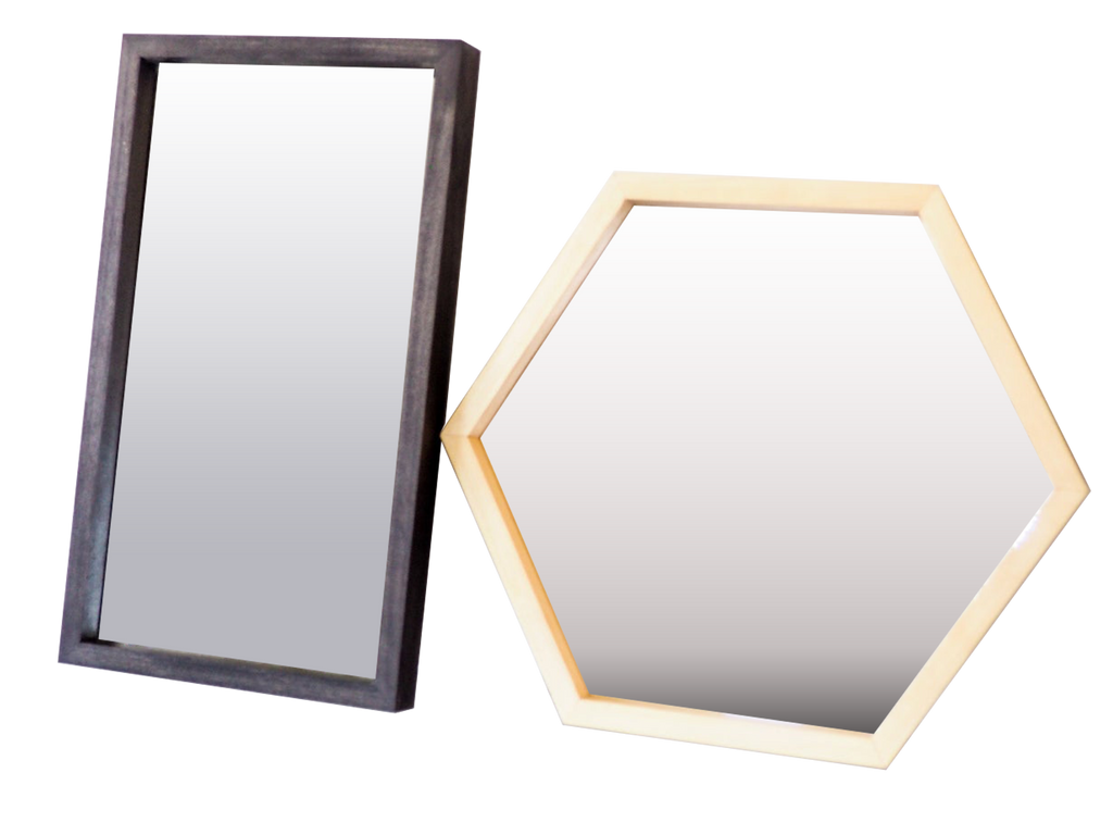 Essential Wooden Mirrors