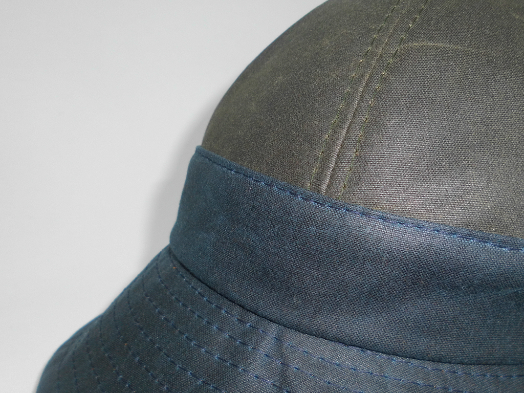 Felix Bell Hat - Navy/Green