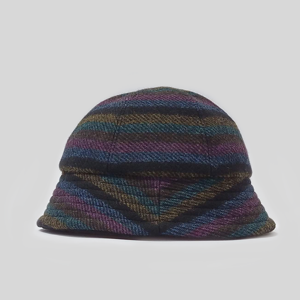 Geelix Bell Hat - Stripe Wool