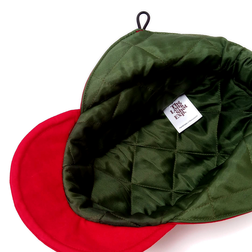 Marvin Mountain Cap - Quilted RBG