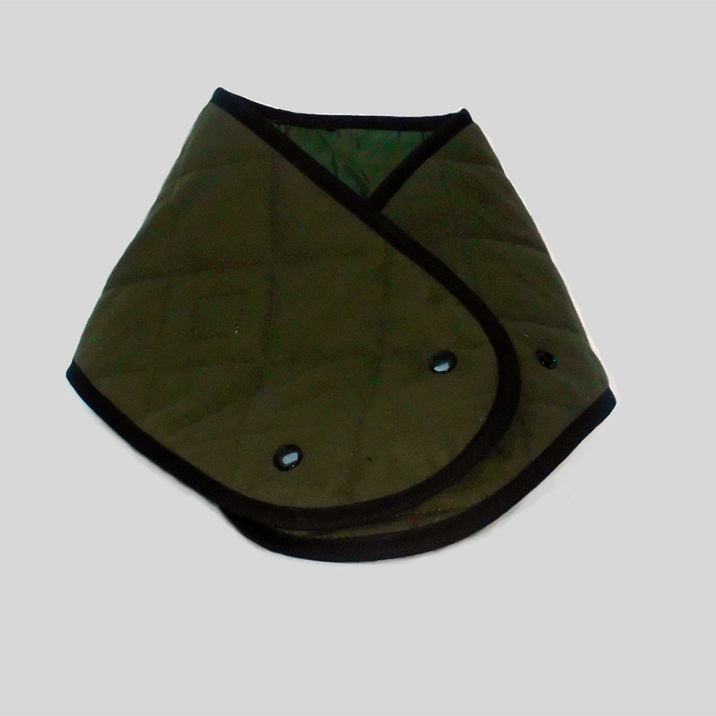 Olive Padded Neck Muffler