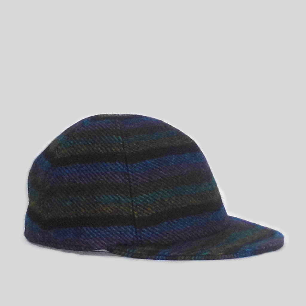 Serge Cap - Wool Stripe
