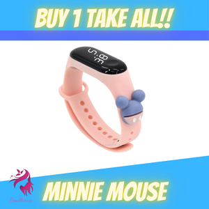 CARTOON TOUCH WATCH BUY 1 TAKE ALL (4PCS TOTAL!)
