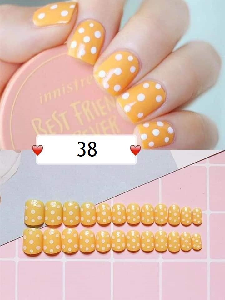 Rose Merrie Fake Nails