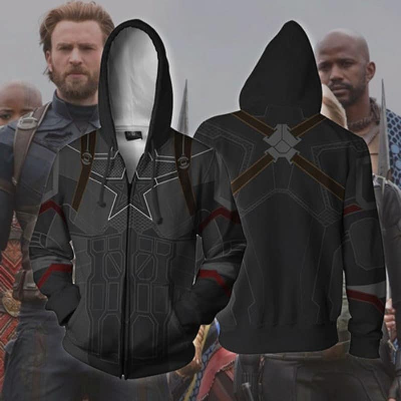MCU Captain America Jacket
