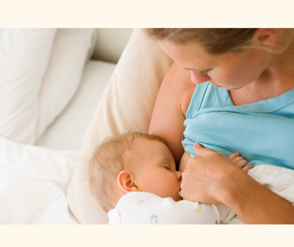 Physical benefits of breast feeding for the baby