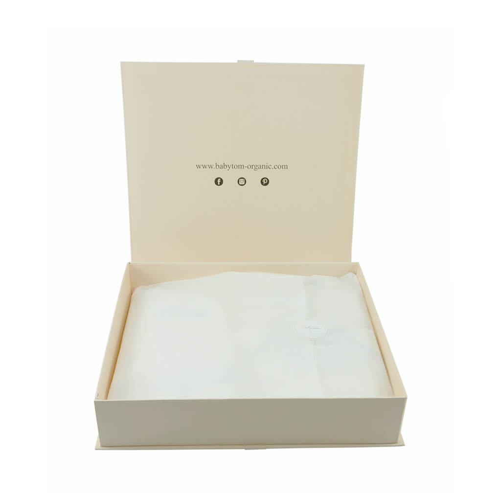 BABY GIRL - 2 pieces Organic Pima cotton Gift Set.