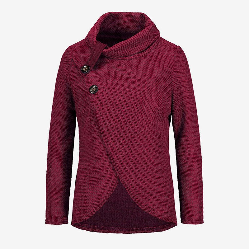 check out ec368 a21ae Langarm Wickelpullover